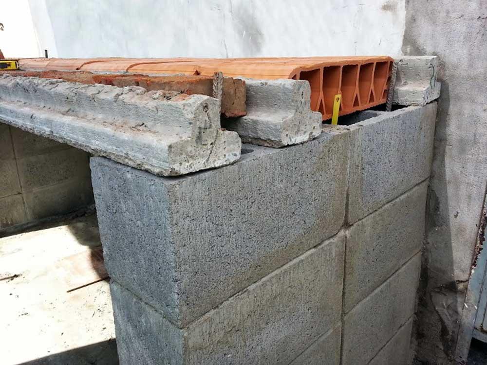 Construidas for Parrilla de material para casa