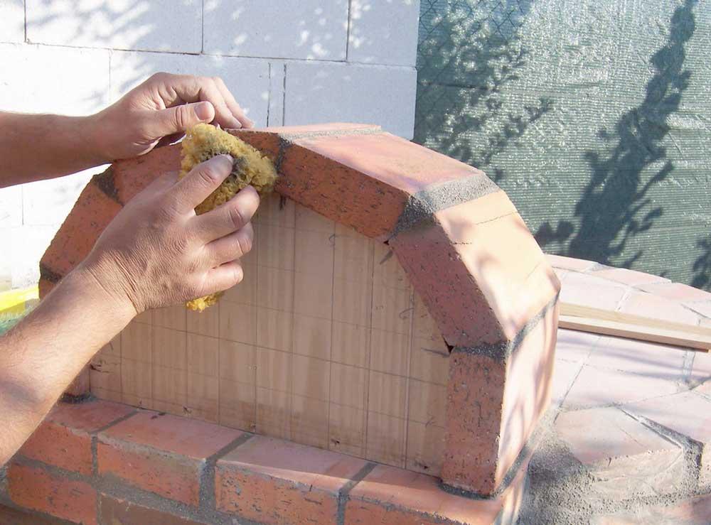 Hornos construidos - Horno de ladrillo ...