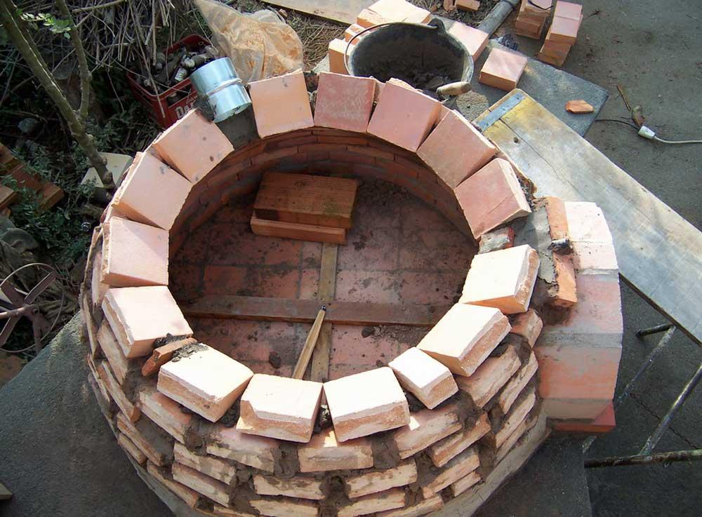 Hornos construidos - Materiales para hacer un horno de lena ...