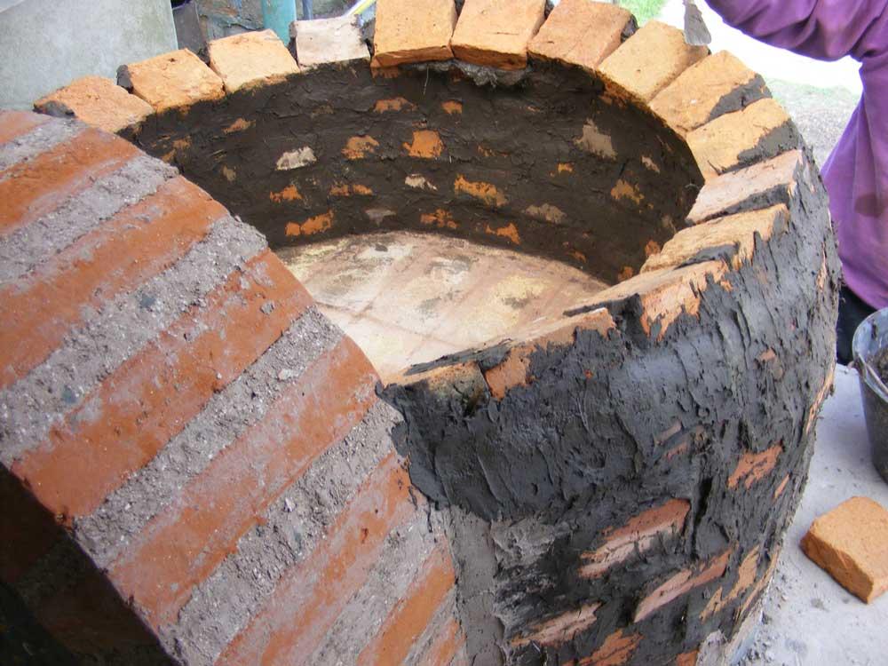Horno de piedra casero finest como hacer un horno a lea - Horno de piedra casero ...
