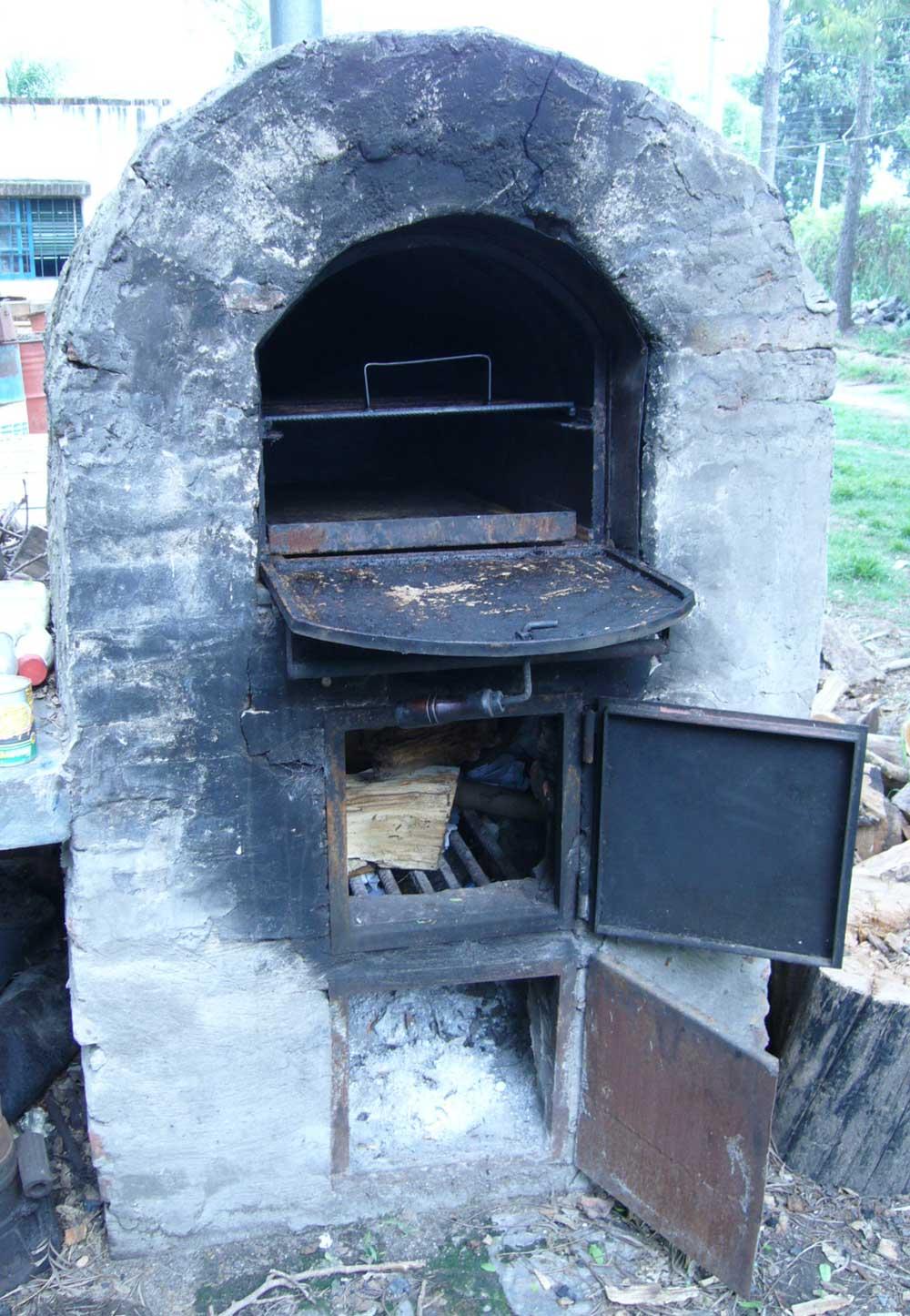 Horno de piedra casero horno de barbacoa y horno de - Horno de piedra casero ...