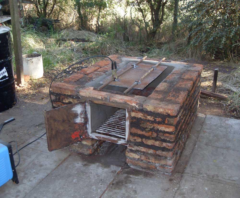 Pin horno chileno con tambor youtube on pinterest for Construccion de piletas paso a paso
