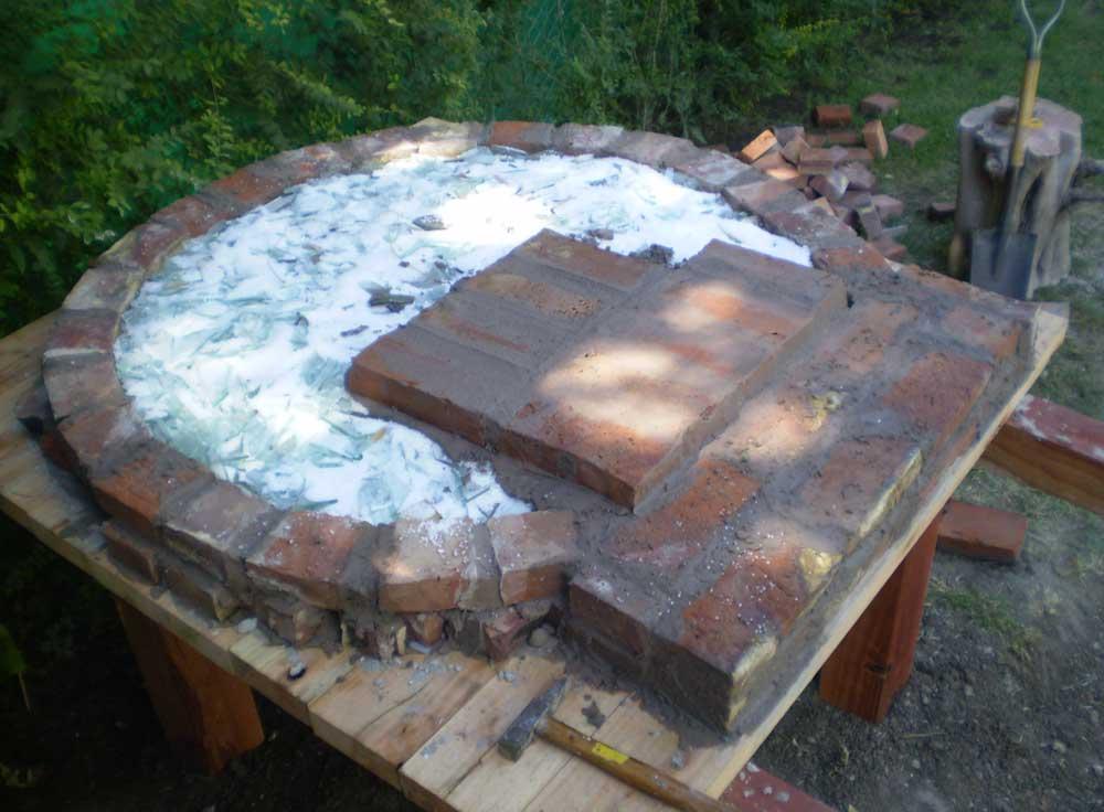 Hornos construidos - Construccion de un horno de lena ...